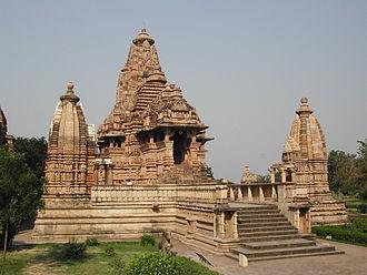 Lakshmana Temple, Khajuraho - Lakshmana temple at Khajuraho