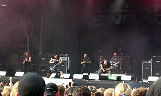 Metalcore - Killswitch Engage are considered one of the breakthrough bands to bring metalcore to the spotlight.