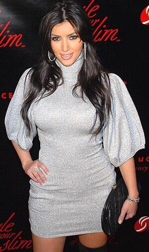Reality television - Reality TV personality Kim Kardashian