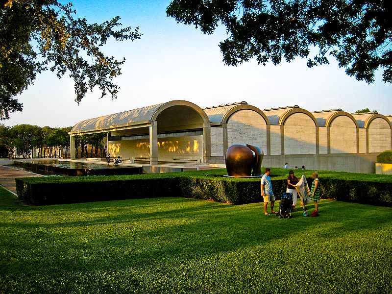 File:Kimbell Art Museum with Moore sculpture.jpg