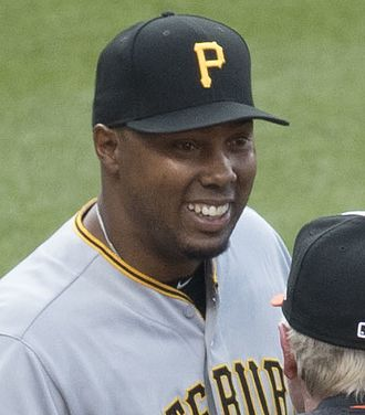 Kimera Bartee - Bartee with the Pirates in 2017.