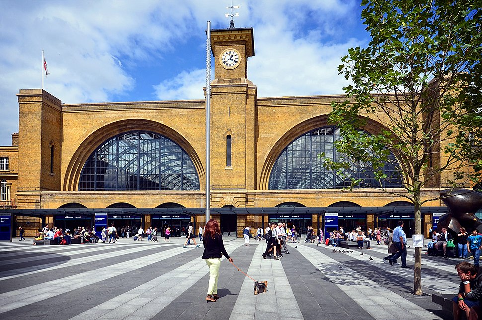 King's Cross station, August 2014