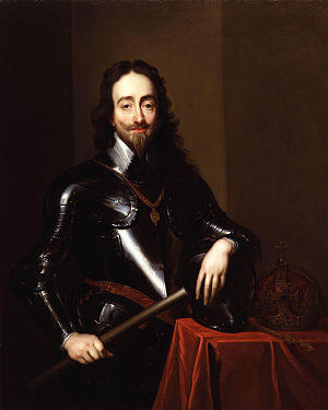 Caroline era - King Charles I by van Dyck (1635)