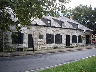 Senate House State Historic Site building in Kingston, New York, United States