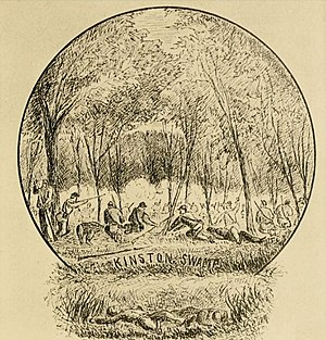 Battle of Kinston - Image: Kinston Swamp