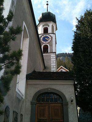 Haldenstein - The Protestant church in Haldenstein