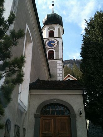 Haldenstein - The Protestant church in Haldenstein