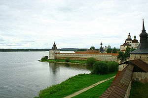 Kirillo-Belozersky Monastery - View from one of the monastery towers.