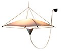 Kite 'Cometa' Light, 1971 by Charles & Jane Dillon.jpg