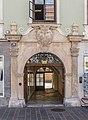 Klagenfurt Alter Platz 29 Palais Stampfer Barockportal 18072016 3164.jpg