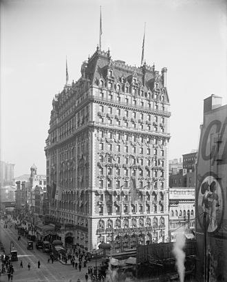 The Knickerbocker Hotel (Manhattan) - Image: Knickerbocker Hotel