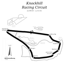 Tracciato di Knockhill Racing Circuit