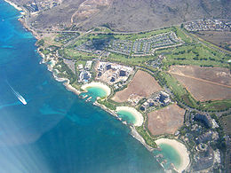 Ko Olina as seen by air