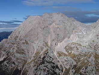 Kalce Ridge - Image: Kochna Kalshki greben