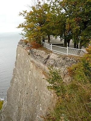 Königsstuhl National Park Centre - The viewing platform on the Königsstuhl