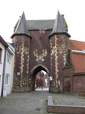 Ninove - The Koepoort city gate