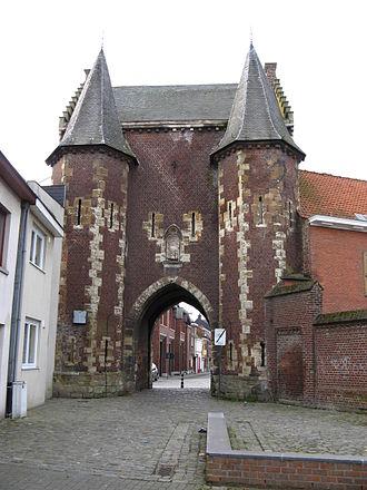Ninove - The Koepoort city gate