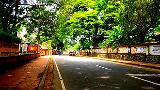 National Highway 183 (India) - Image: Kollam Theni NH 183 near Thevally