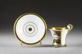 Kopp med fat. Motiv Stockholmsvy - Hallwylska museet - 87144.tif
