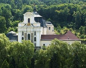 Holy Trinity Church, Fulnek - Image: Kostel Nejsvětější Trojice (Fulnek) – ext 001