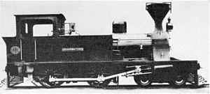 Kowie Railway 4-4-0T - Kowie Railway 4-4-0T Grahamstown