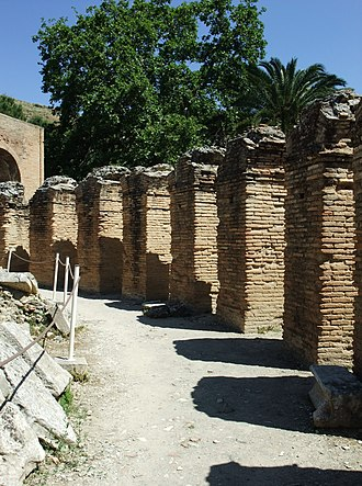 Gortyna - Detail of the ancient Odeon
