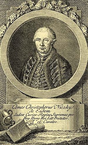 Nițchidorf - Kristóf Niczky (1725-1787), the founder of the settlement