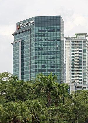 Sapura Energy - Sapura Kencana Petroleum offices in Kuala Lumpur.
