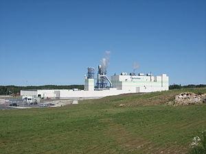 Kunda, Estonia - Image: Kunda, nová továrna