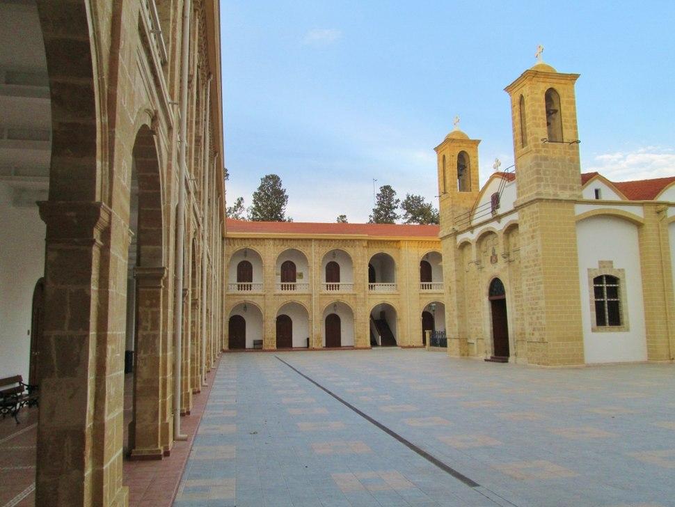 Kykkos Monastery orthodox church Nicosia Republic of Cyprus
