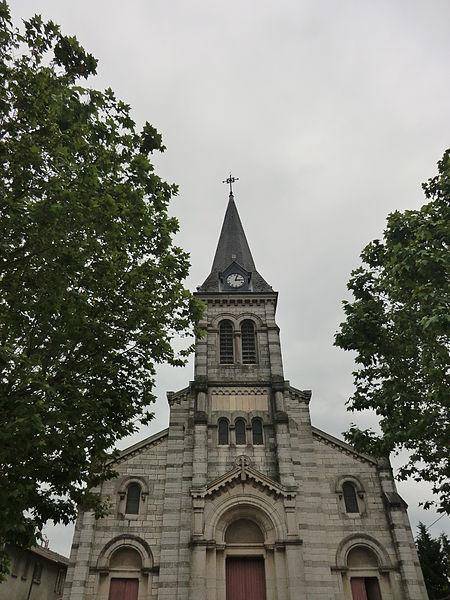 L'église Saint-Martin de Chalamont.