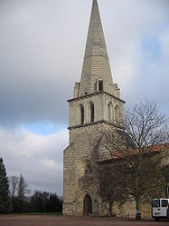 The church in Angliers