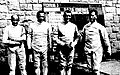 L'équipe de France à l'épée, troisième du tournoi olympique en 1936 (G. à D. Philippe Cattiau, Georges Buchard, Henri Dulieux et Paul Wormser).jpg