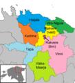 Lääne-Viru municipalities 2017.png