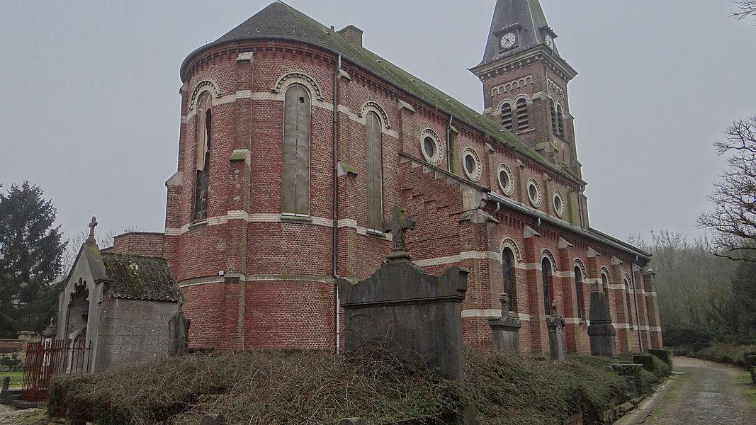 Lécluse - l'église