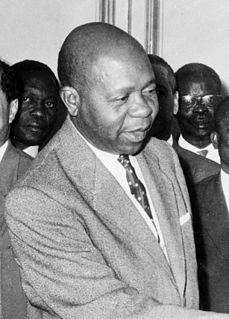 Léon Mba 1st President of Gabon