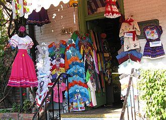 Olvera Street - Street scene
