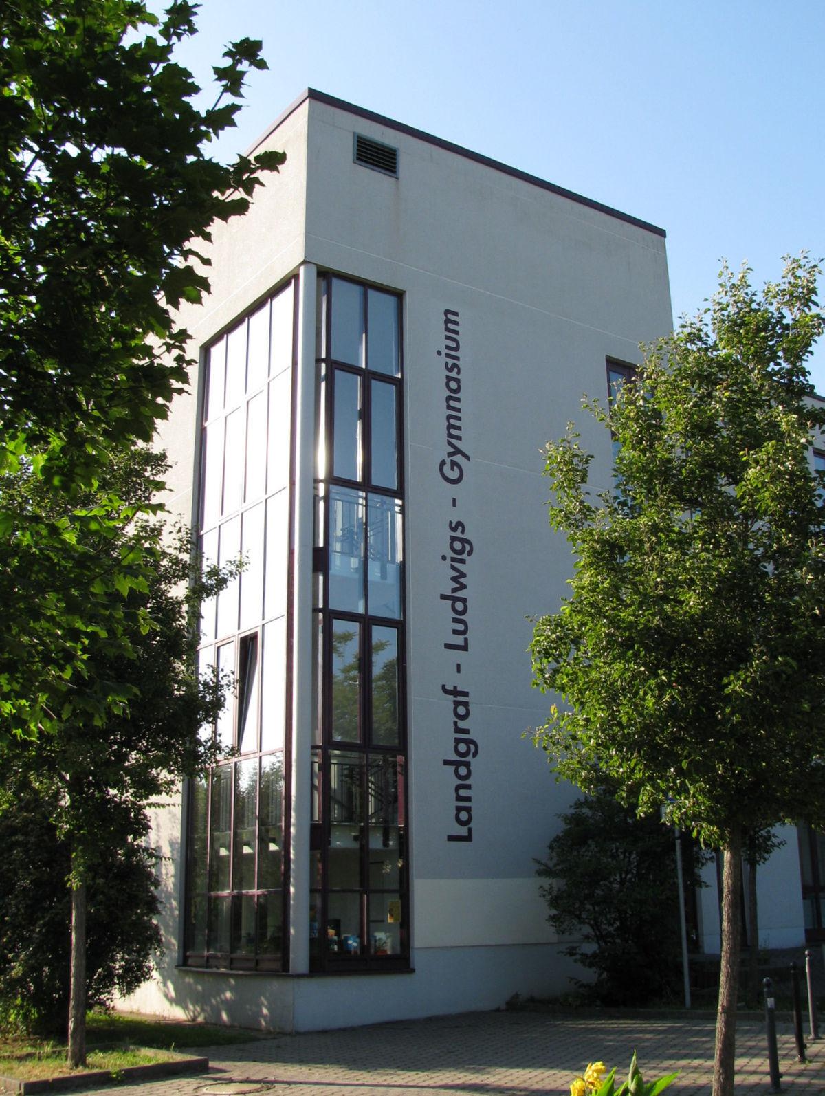 Landgraf Ludwigs Gymnasium Wikipedia