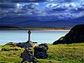 LLanddwyn view of Snowdon - panoramio.jpg