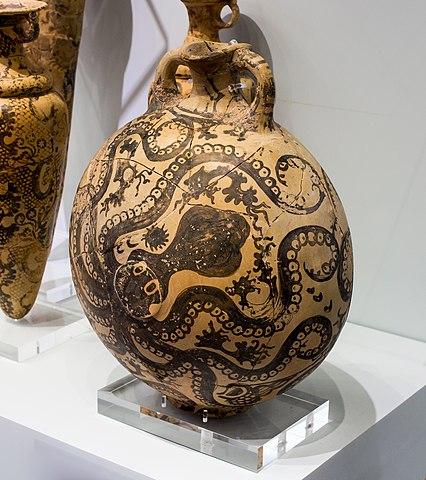 Minoan marine ware jug