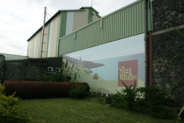 La Saga du Rhum museum in Saint)Pierre, Réunion Island. Photo by Wikimedia Commons.