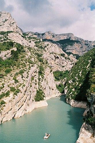 Verdon (river) - Verdon river
