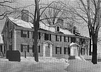 American Independence Museum - The Ladd-Gilman House, circa 1914