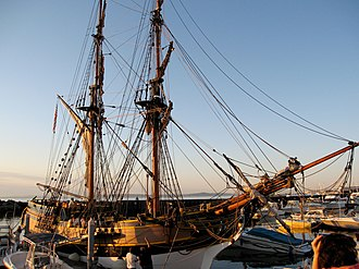 Lady Washington - Lady Washington at Port of Edmonds