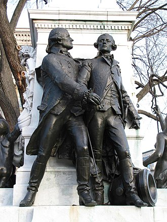 Major General Marquis Gilbert de Lafayette - Image: Lafayette left