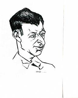 Lajos Tihanyi Yvan Goll 1927