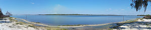 Lake Manatee - Image: Lake Manatee SP lake pano 01