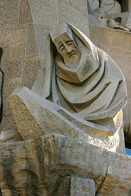 Lamenting Peter - Sagrada Familia - Barcelona 2014