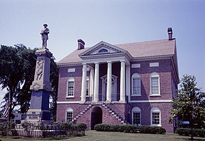 Lancaster County, South Carolina - Image: Lancaster County Courthouse (Built 1828), Lancaster, South Carolina