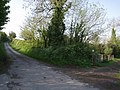 Lane and path near West Raddon - geograph.org.uk - 430749.jpg